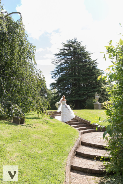 wedding at milton park